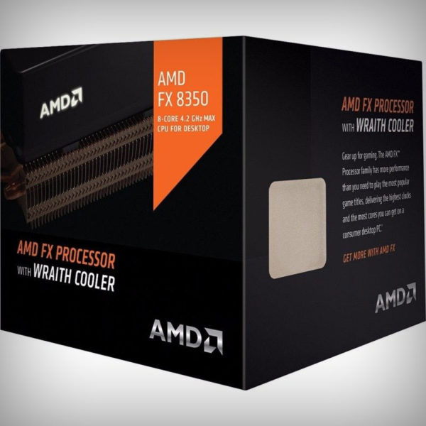 AMD FX-8350 with AMD Wraith Cooler FD8350FRHKHBX